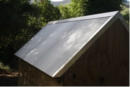 Picture of Zinc-Alum Mini Iron Roofing Overlay