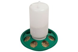 Picture of 1kg 7 hole Jar Feeder for Chicks & Quails
