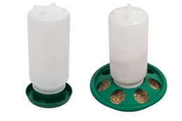 Picture of Jar Feeder & Jar Drinker set