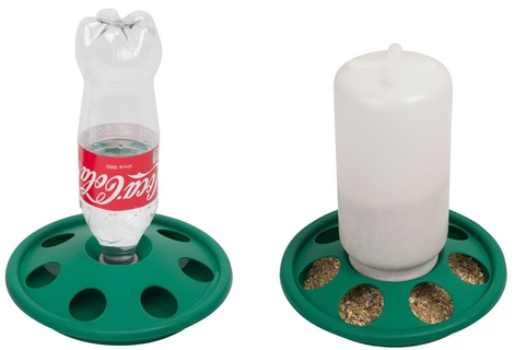 Picture of Bottle drinker + Jar feeder
