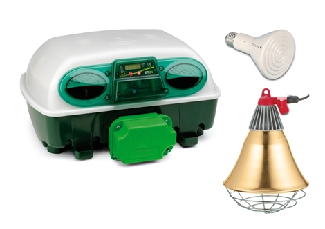 Picture of Summer Special - Egg Tech 524 Automatic Incubator + Free Heat lamp Set
