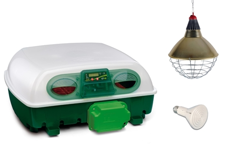 Picture of Summer Special - Egg Tech 549 Automatic Incubator + Free Heat lamp Set