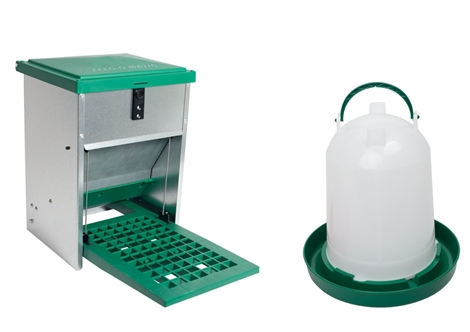 Picture of 5kg Feed-o-Matic + 6L Drink-o-Matic Combo