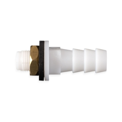 Picture of Hose fitting 10mm, with brass nut + seal